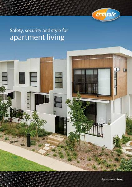 Crimsafe Residential Apartments Brochure