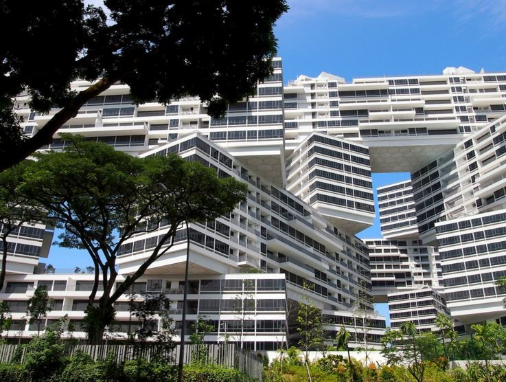 World Architecture Festival World Building of the Year award winner: The Interlace, Singapore by OMA. Photography by Iwan Baan
