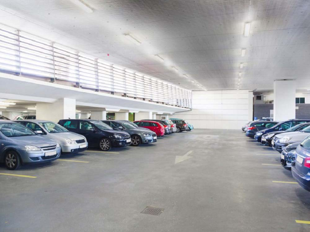 Products meeting requirements for underground car park soffits
