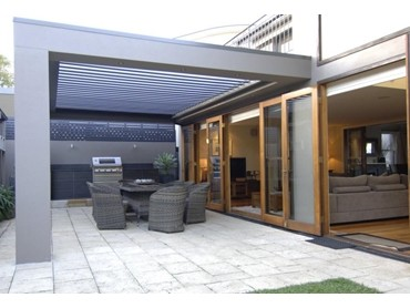 Vergola Louvered Pergola Roofing Systems Create Welcoming