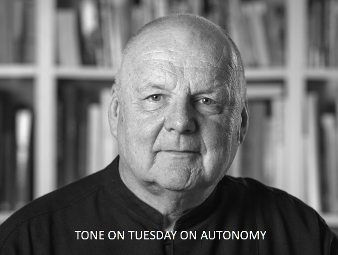 Tone on Tuesday: On Autonomy