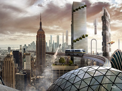 New York City in the future, of course.