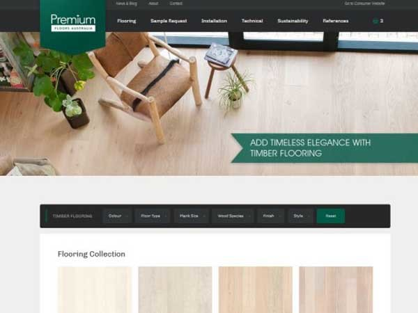 Specifiers website