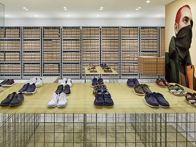 The Camper store by Schemata Architects