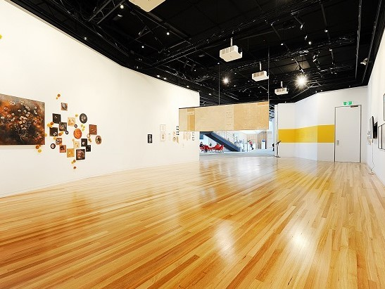 The art gallery floor