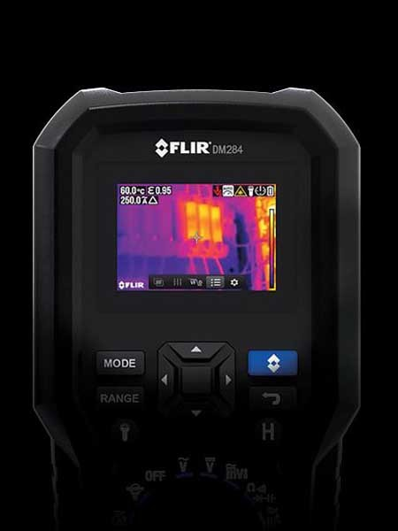 FLIR DM284 thermal imaging digital multimeter