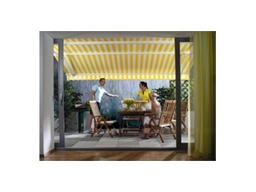 Luxaflex Sun And Rain Awnings Available From Abesco Blinds