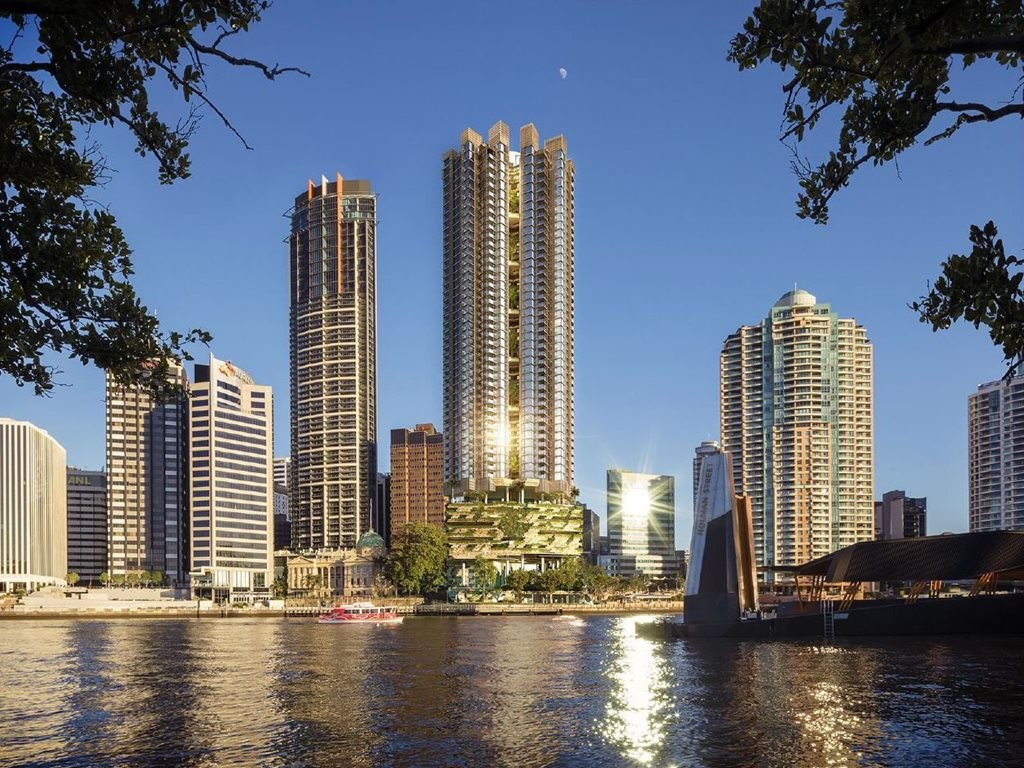 Cbus Property has appointed Probuild to design and construct 443 Queen Street in Brisbane. Image: Supplied