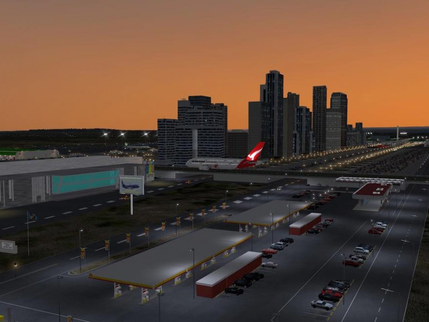 The federal minister for Urban Infrastructure, Paul Fletcher, noted that the new airport at Badgery's Creek, which will be located about 50 kilometres west of Sydney's CBD, is set to become the centre of an evolving 'aerotropolis'. Image: www.x-plane.org