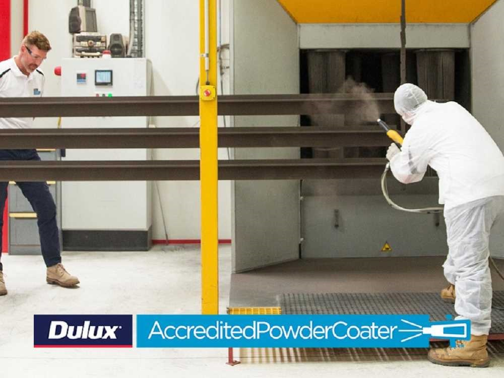 Dulux Accredited Powder Coater