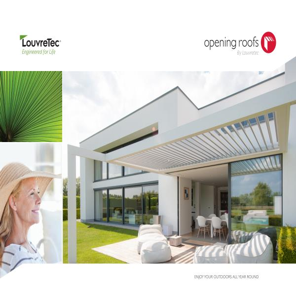 Louvretec Opening Roofs Brochure
