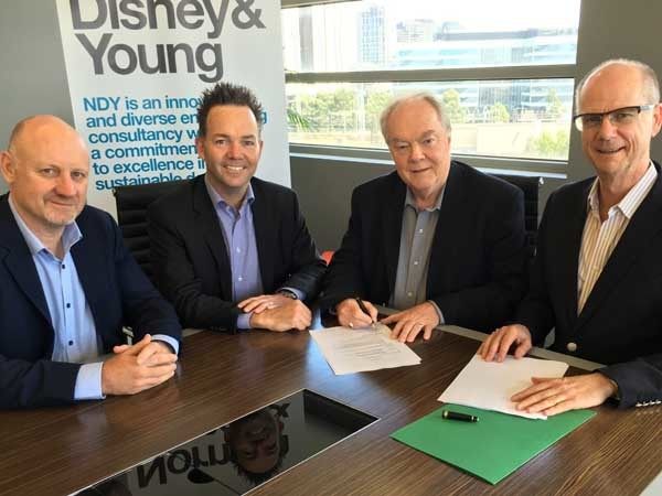 Formal signing of the Sterling Cooper acquisition by NDY