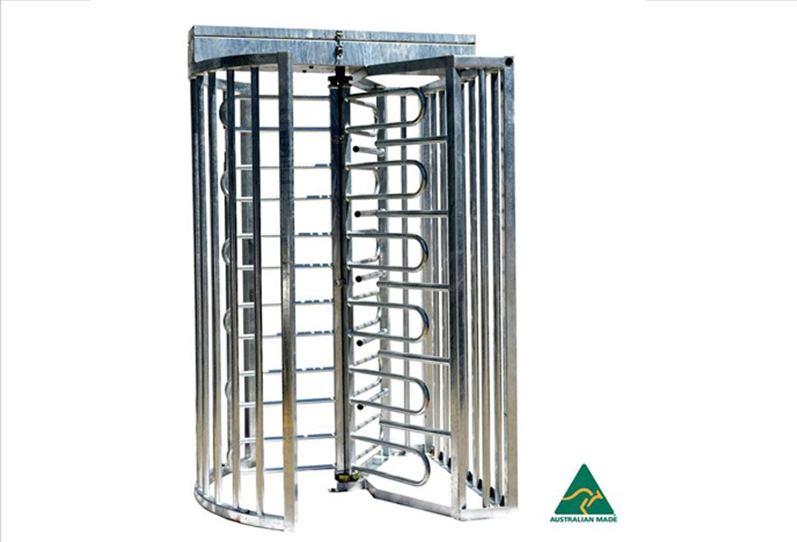 TriStar full height Australian made turnstiles
