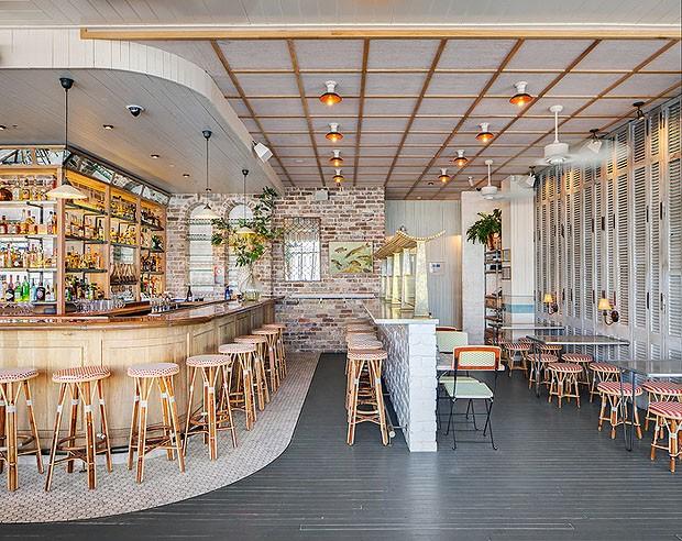 Aussie bars and restaurants make international design