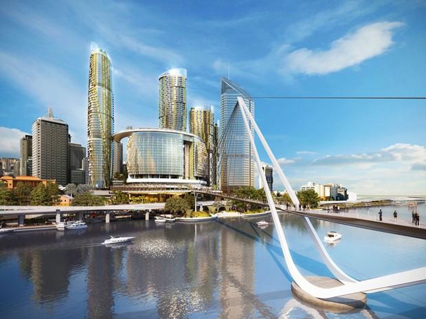 Design Battle For Brisbane Queen S Wharf Casino Precinct