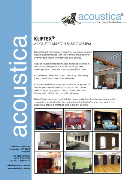 KlipTex® Stretch Fabric Systems