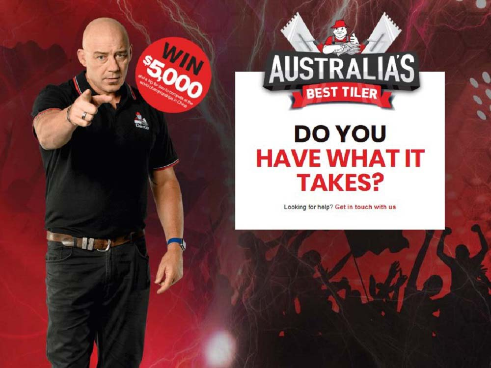 Australia's Best Tiler competition