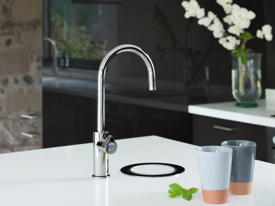 Zip's HydroTap in Platinum. Image: Zip Water