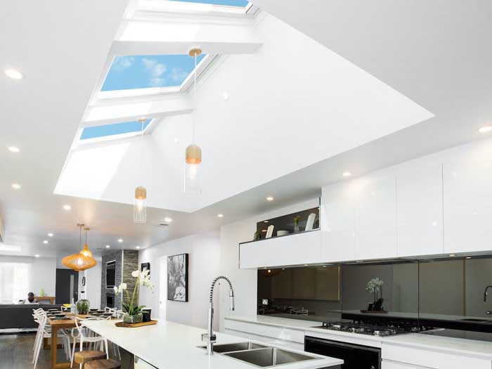 Kitchen skylights