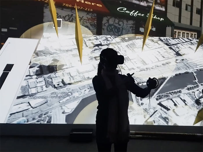 Smart Building MInD Lab at Deakin Univserity Virtual Reality Experiment