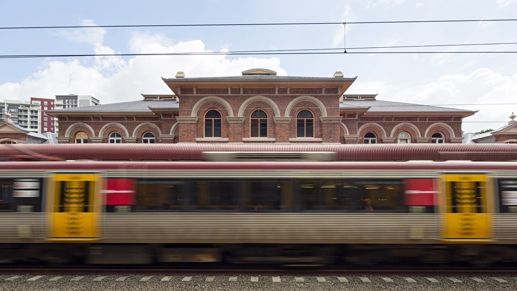 Tracking history: Roma Street Railway Station by Architectus with Michael Kennedy