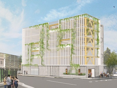 Wa S First Mass Timber Framed Office Coming Up In