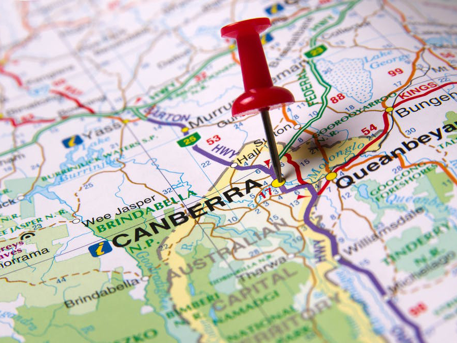 The ACT has Australia's best state tax system, NSW the worst. Shutterstock