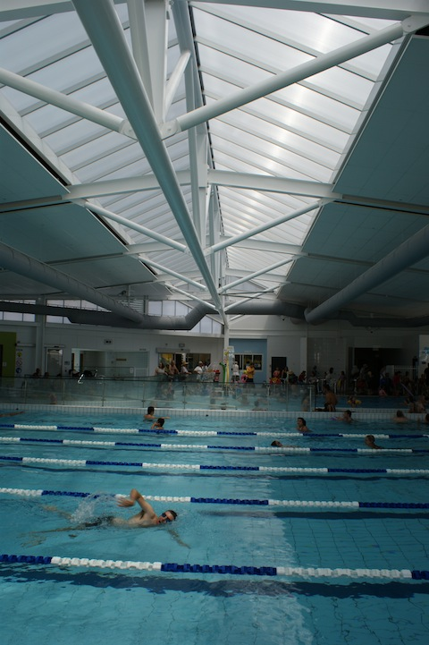 Collingwood Leisure Centre Redeveloped Peddle Thorp