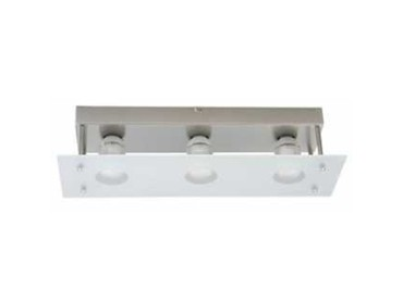 Three light GU10 to ceiling fitting - FA1068-3