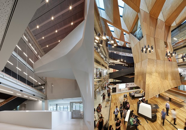 The University Of Melbourne School Design By John Wardle Architects And NADAAA In Collaboration Photography Gollings