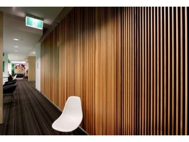 Screenwood Western Red Cedar Used For Acoustic Wall Panels