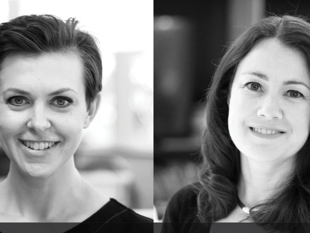 In a continuing expansion at the top, Scott Carver has appointed Angela Biddle (left) and Esther Dickins right) as directors, in order to provide a true reflection of the growth and gender diversity of the design firm at the board level, according to the firm. Image: Supplied