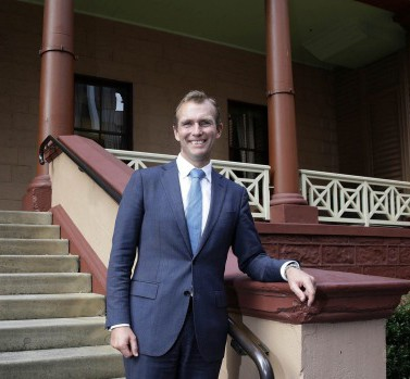 NSW Minister for Planning, Rob Stokes. Photography by Jessica Hromas for Fairfax