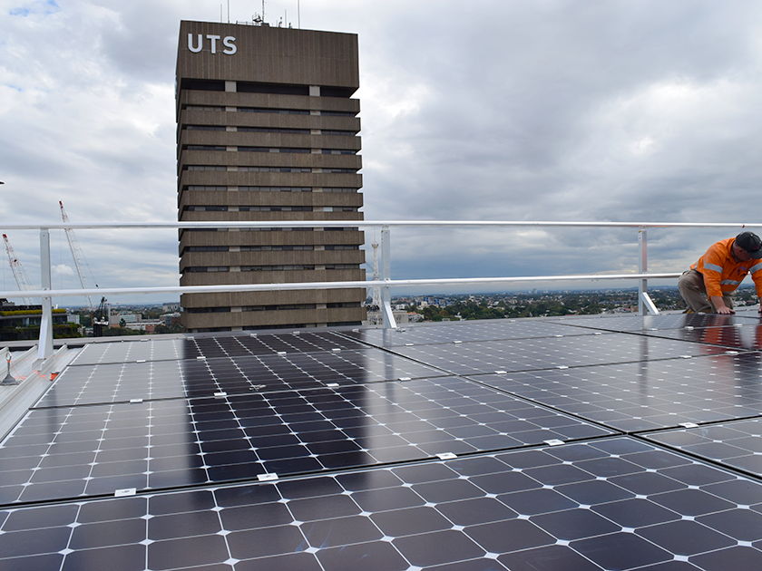 The University of Technology Sydney (UTS) has signed a deal for a new $40 million solar farm in regional NSW. Image: UTS