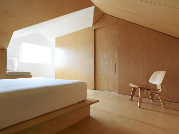 11 ways with plywood for every room and application for Bedroom designs plywood