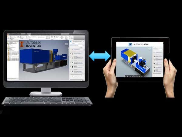 Inventor Connected Design enables fast, easy 3D design reviews with your team and other project collaborators anywhere, on any device