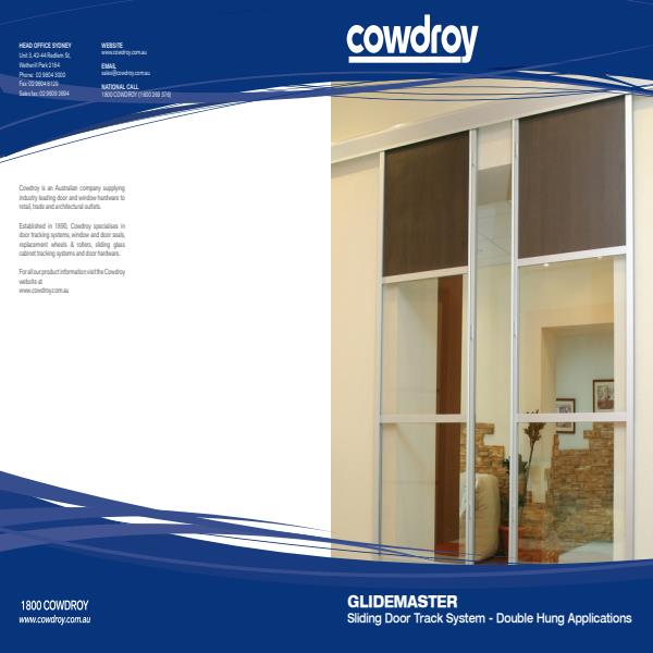 Australian Manufacturer Of Door Track Systems And