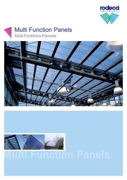 Multi-function panels brochure