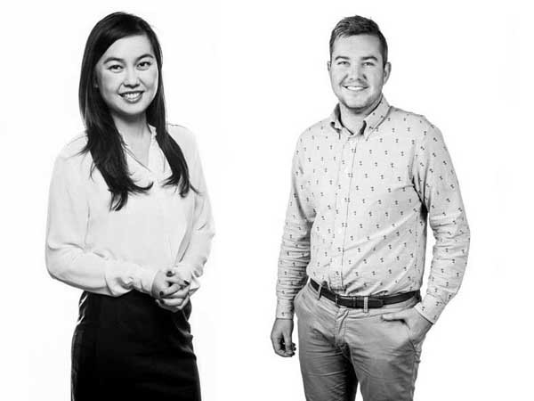 Clare Kwok and James Kelly