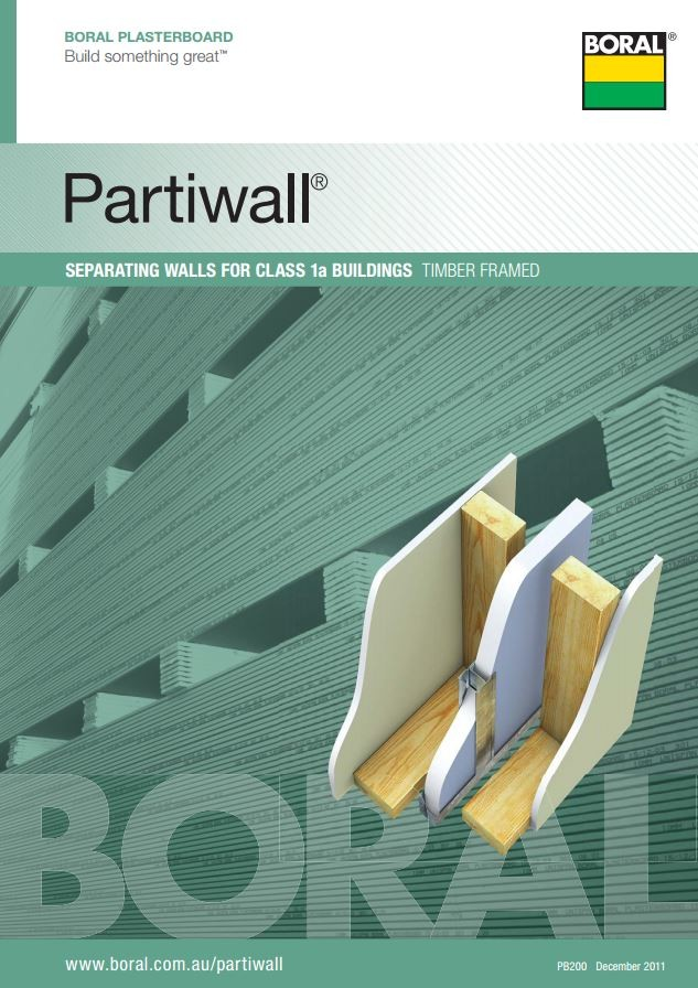 Acoustic Separating Wall Systems For Attached Dwellings By