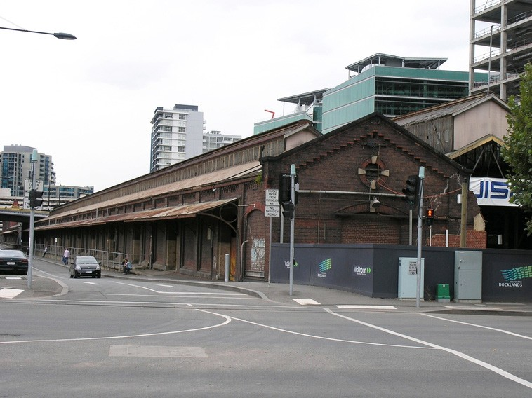 The historic bluestone Goods Shed forms the centrepiece of the newly approved $50m Ballarat Station revitalisation project. Image: Heritage Victoria