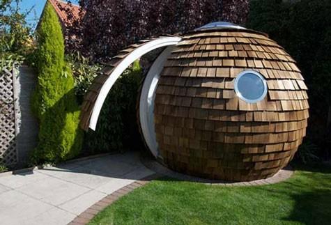 Archipod Creates Curious Garden Office Pod Architecture
