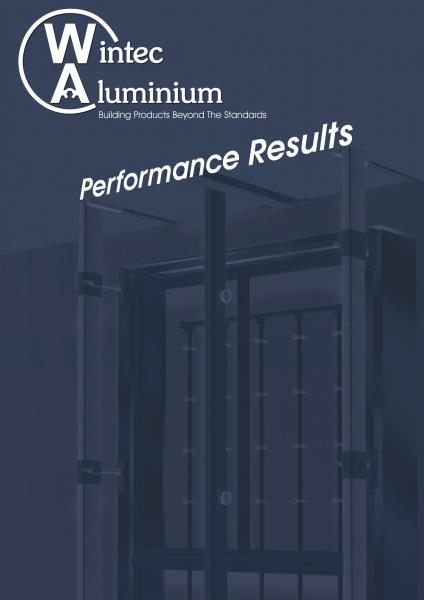 Wintec Performance Results Brochure