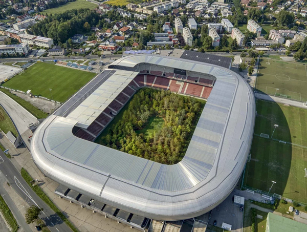 klaus littmann for forest klagenfurt football stadium