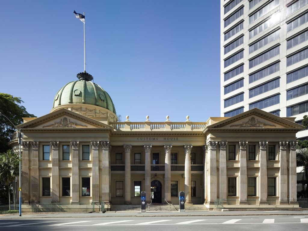 Brisbane Customs House, Queen Street – reuse as function centre and city office for the University of Queensland. Photography by Christopher Frederick Jones
