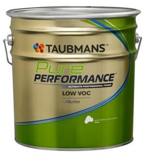 non voc paint organic pure performance range by taubmans eight of australias best low and zero voc paints architecture