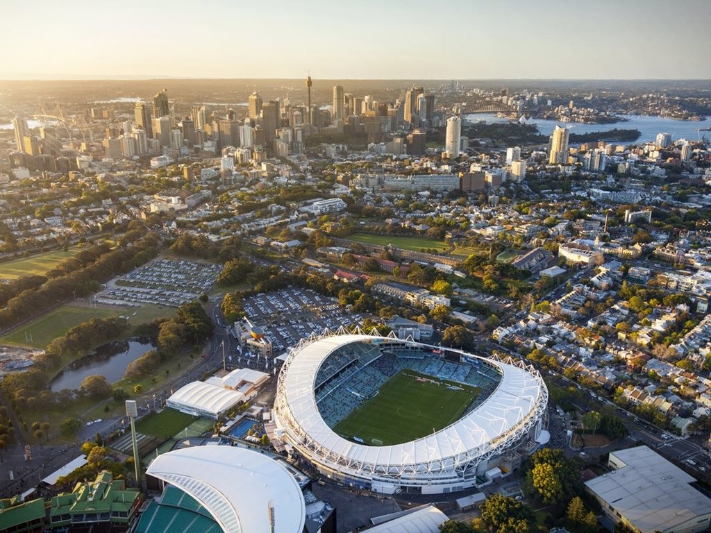 Allianz Stadium by COX Architecture. Image: COX Architecture