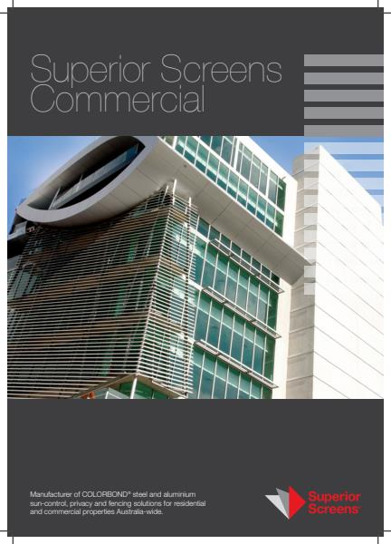Superior Screens Commercial Brochure