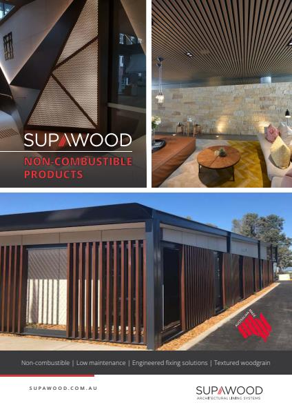 Supawood Non-combustible Products