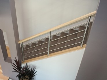 Stainless Steel Balustrades - Aspect Balustrade 01